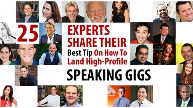 25 Experts Share Their Best Tip On How To Land High-Profile Speaking Gigs – Flight Media Blog