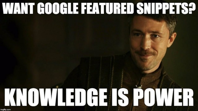Game of Featured Snippets: How to Rank in Position 0 – Moz
