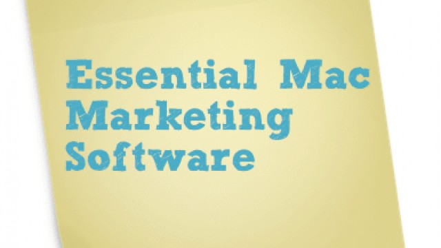 Essential Mac Marketing Software for 2013