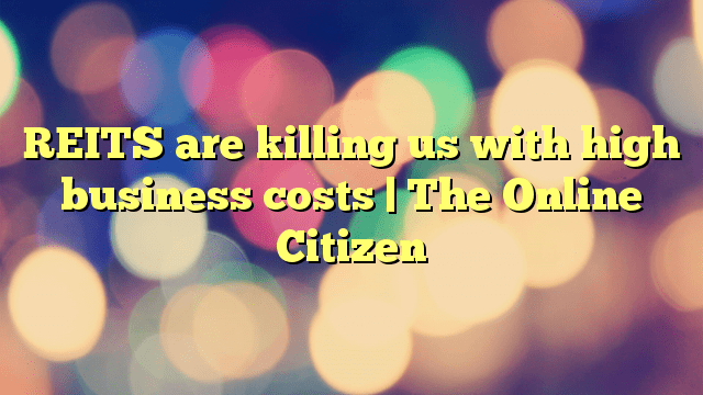 REITS are killing us with high business costs. | The Online Citizen