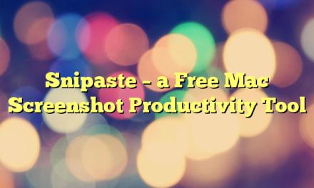 Snipaste – a Free Mac Screenshot Productivity Tool
