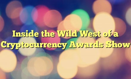 Inside the Wild West of a Cryptocurrency Awards Show