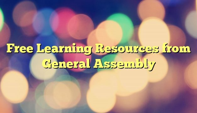 Free Learning Resources from General Assembly