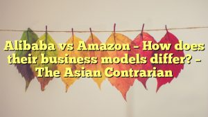 Alibaba vs Amazon – How does their business models differ? – The Asian Contrarian