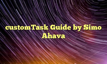 customTask Guide by Simo Ahava