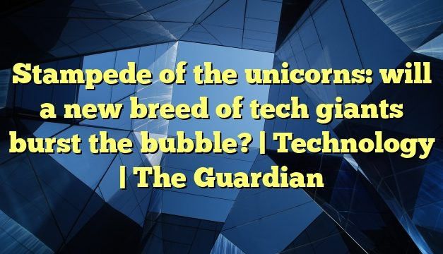 Stampede of the unicorns: will a new breed of tech giants burst the bubble? | Technology | The Guardian